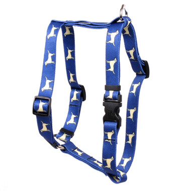 "Yellow Lab Roman Style ""H"" Dog Harness"