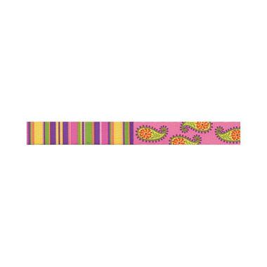 "Pink Stripes Roman Style ""H"" Dog Harness"