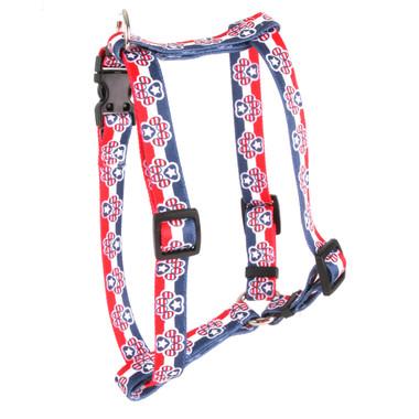 "Patriotic Paws Roman Style ""H"" Dog Harness"