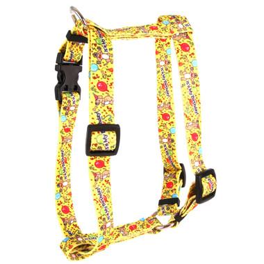 "Happy Birthday Roman Style ""H"" Dog Harness"