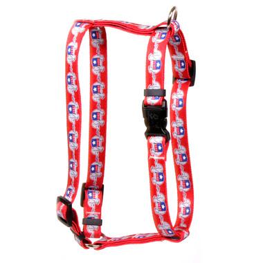 "GOP Elephants Roman Style ""H"" Dog Harness"