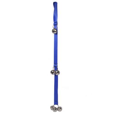 Solid Royal Blue Ding Dog Bells Potty Training System