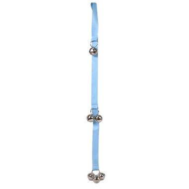 Solid Light Blue Ding Dog Bells Potty Training System