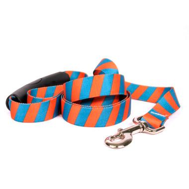 Team Spirit Orange and Teal EZ-Grip Dog Leash