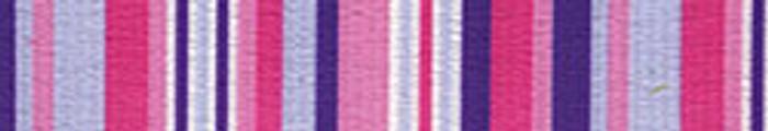 Purple and Pink Stripes EZ-Grip Dog Leash