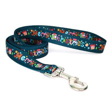 Merry Christmas Dog Leash