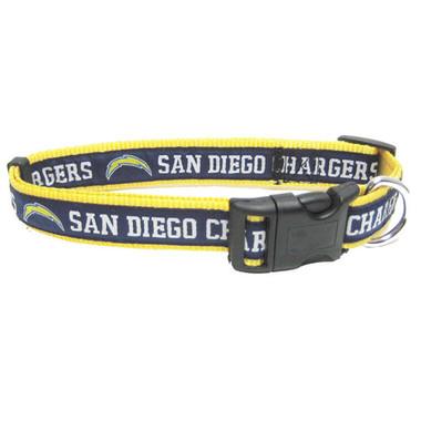 San Diego Chargers Dog Collar