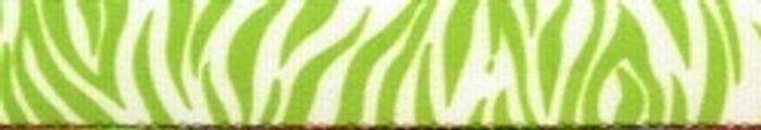 Zebra Green Waist Walker