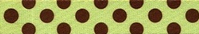 Green and Brown Polka Dot Waist Walker