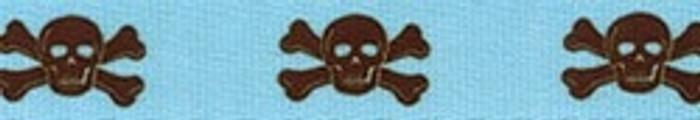 Blue and Brown Skulls Waist Walker