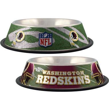 Washington Redskins Stainless Steel NFL Dog Bowl