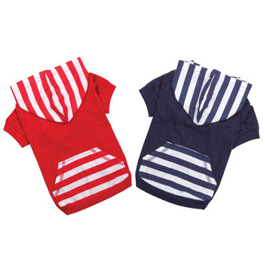 Patriotic Pet Hoodie Shirt With Pockets
