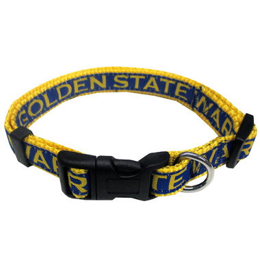 Golden State Warriors Dog Collar