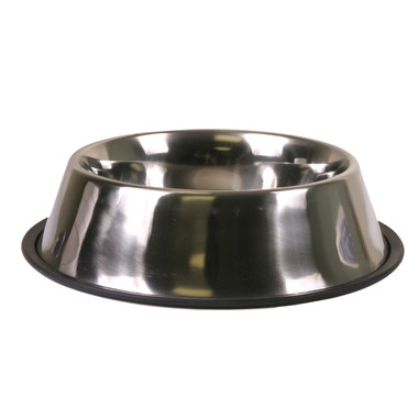 Non Skid Stainless Steel Dog Bowl Dish
