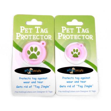 Pink Polka Dot HD Pet ID Tag