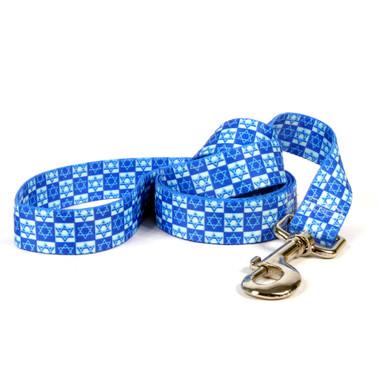 Hanukkah Stars Dog Leash