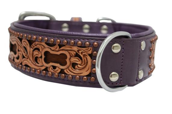 The San Antonio - Luxury Leather Dog Collar