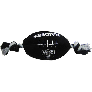 Oakland Raiders NFL Squeaker Football Toy