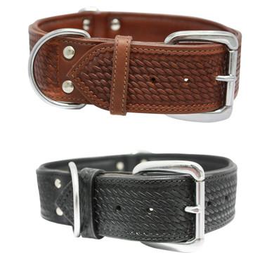 The Santa Fe - Luxury Leather Dog Collar
