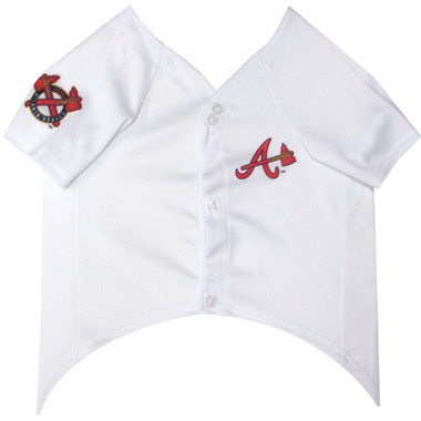 Atlanta Braves MLB Pet JERSEY