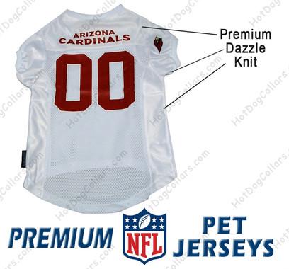 Arizona Cardinals PREMIUM NFL Football Pet Jersey
