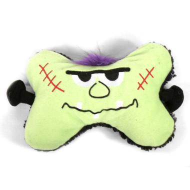 Frankenstein Bone Squeaker Dog Toy 2 PACK