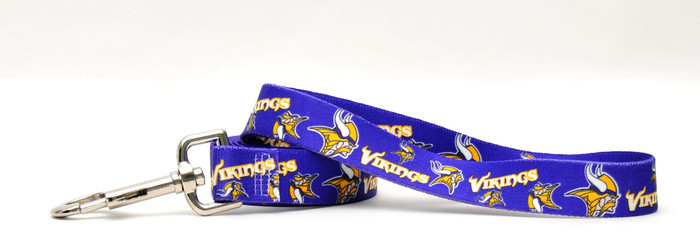 Minnesota Vikings Logo Dog Leash
