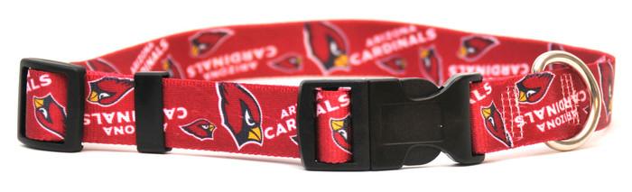 Arizona Cardinals Logo Dog Collar