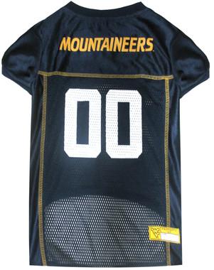West Virginia Football Dog Jersey