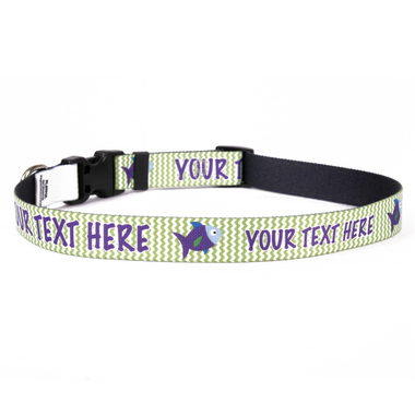 Personalized Fishtales Dog Collar
