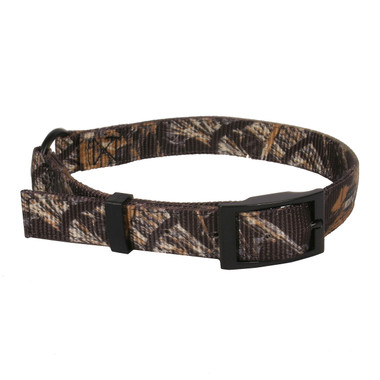 Real Tree Max4 Camouflage Buckle Dog Collar- D In Center