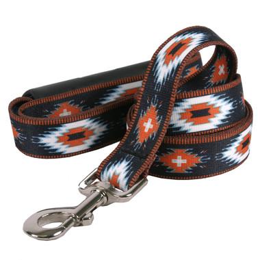 Indian Spirit Black EZ-Grip Dog Leash