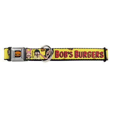 Bobs Burgers Belcher Family Buckle-Down Seat Belt Buckle Dog Collar