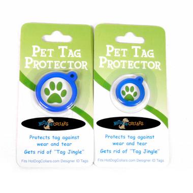 Blue Blocks HD Pet ID Tag