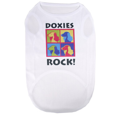 Doxies Rock Pet T-Shirt
