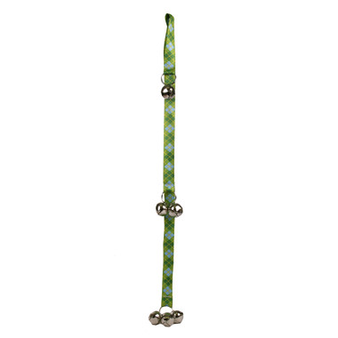 Argyle Green Ding Dog Bell Potty Training System