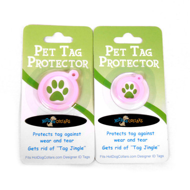 Houndstooth Pink and Brown  HD Pet ID Tag