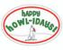 Happy Howlidays Oval Magnet