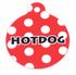 Red Polka Dot HD Pet ID Tag