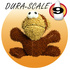 Miguel Monkey Mighty Micro Fiber Balls Dog Toy