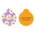 Lavender Daisy HD Pet ID Tag