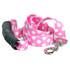 Watermelon Polka Dot EZ-Grip Dog Leash
