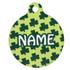 Petite Shamrocks HD Pet ID Tag