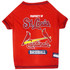 St. Louis Cardinals Tee Shirt For Dogs