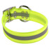 Yellow REFLECTIVE 1.5In WIDE SunGlo All Weather Dog Collar