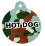 Green Camo HD Pet ID Tag