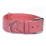 The Pink Dallas - Luxury Leather Dog Collar