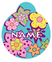 Flower Power HD Pet ID Tag