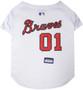 Atlanta Braves MLB Pet JERSEY