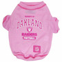 Oakland Raiders NFL Football PINK Pet T-Shirt